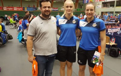 Support of basketball players of Women's Basketball Club Cinkarna Celje