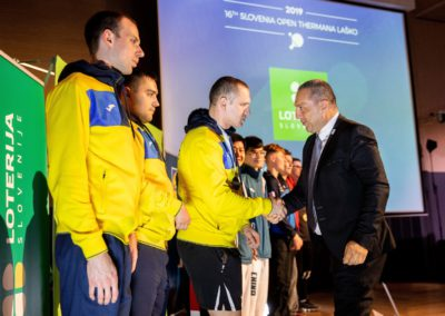16th Thermana Lasko Slovenia Open 2019 - Closing ceremony